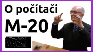 O počítači M-20
